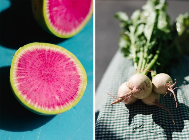 Autumn Salad: Watermelon Radish