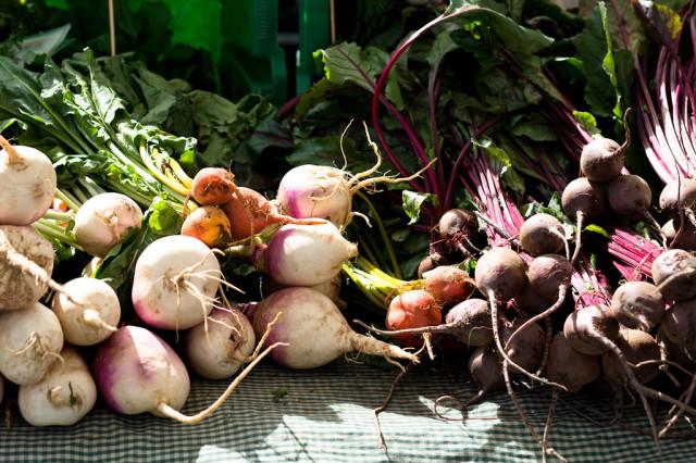 Autumn Greenmarket: Root Vegetables