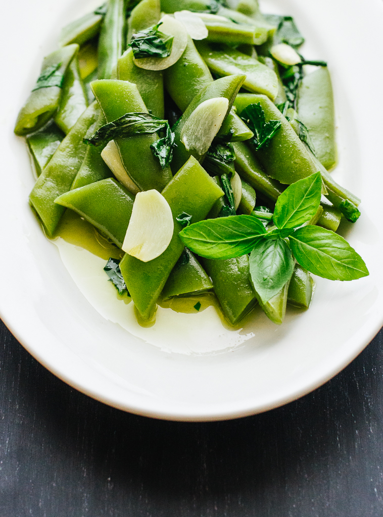 Green Beans & Arugula | Flavors of Light