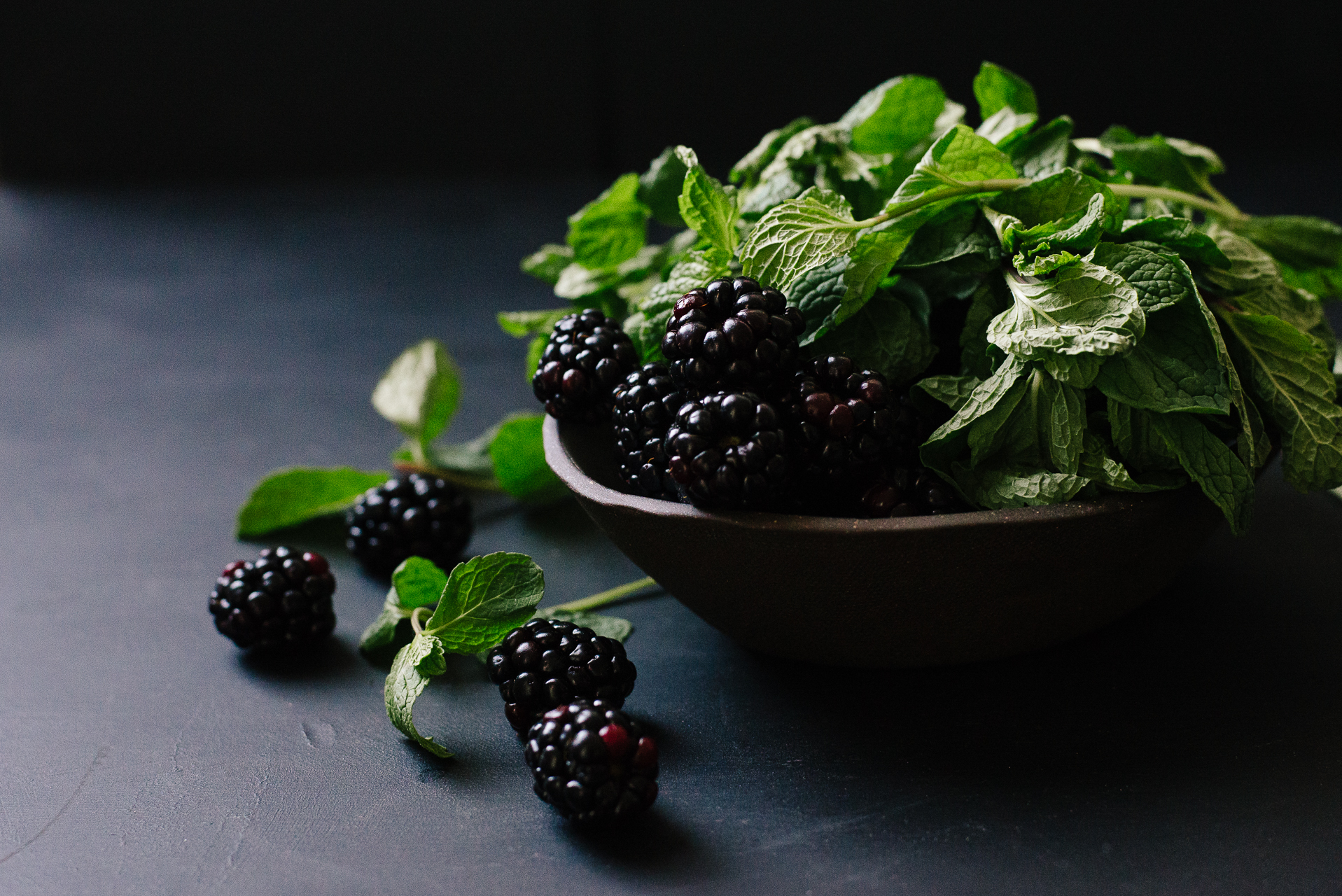 Blackberries & Mint | Flavors of Light