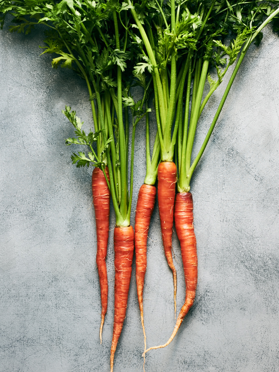 Red Heirloom Carrots / Cumin-Coriander Honey Roasted Carrots | Flavors of Light