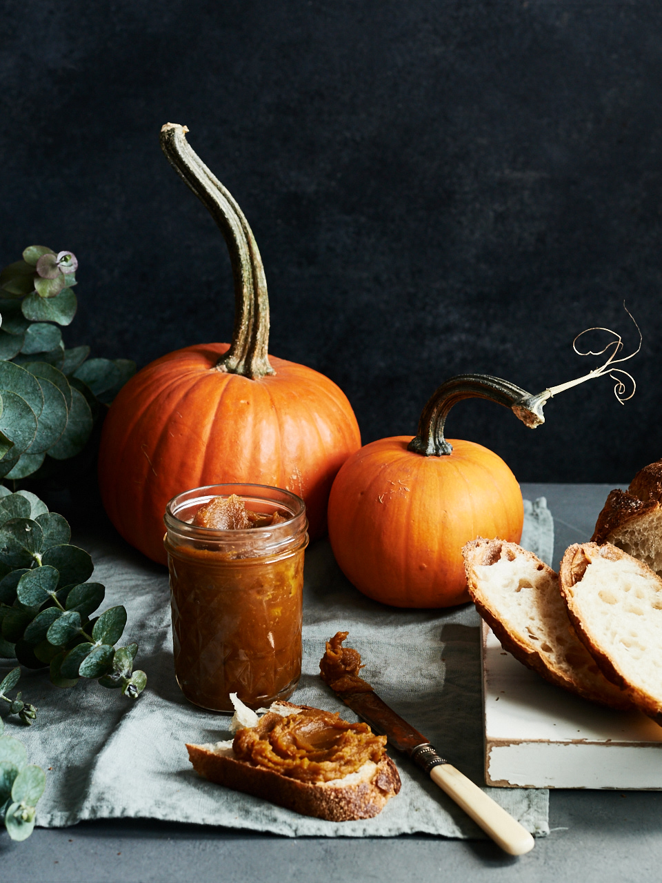Roasted Pumpkin Butter with Pecans | Flavors of Light