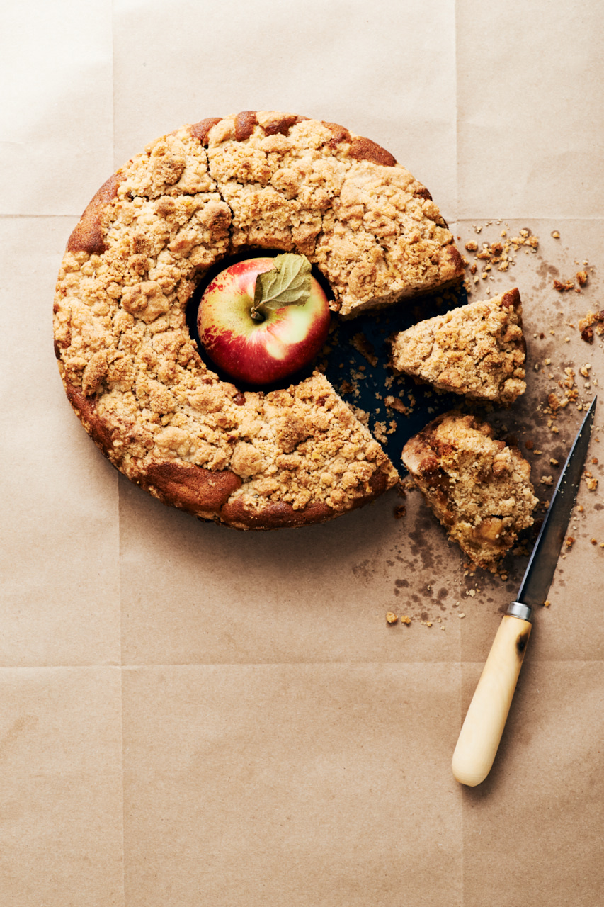 Chunky Apple Crumb Cake | Flavors of Light