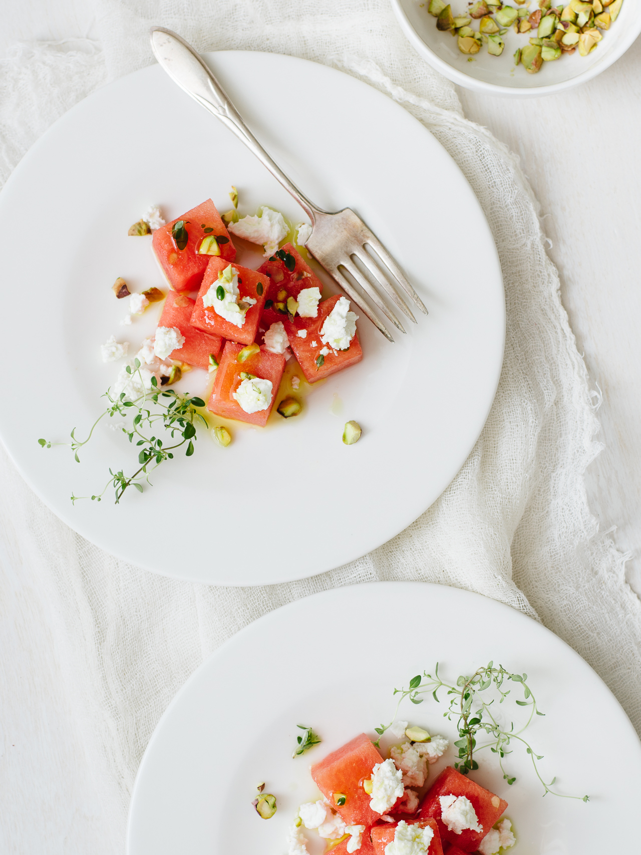 Summer Watermelon Salad | Flavors of Light